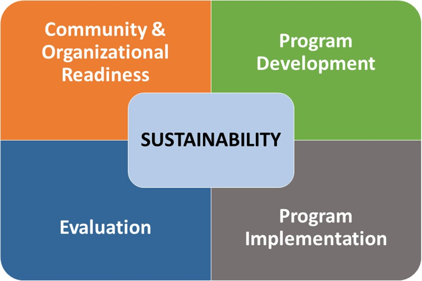 Figure 2. Four phases of program development and management